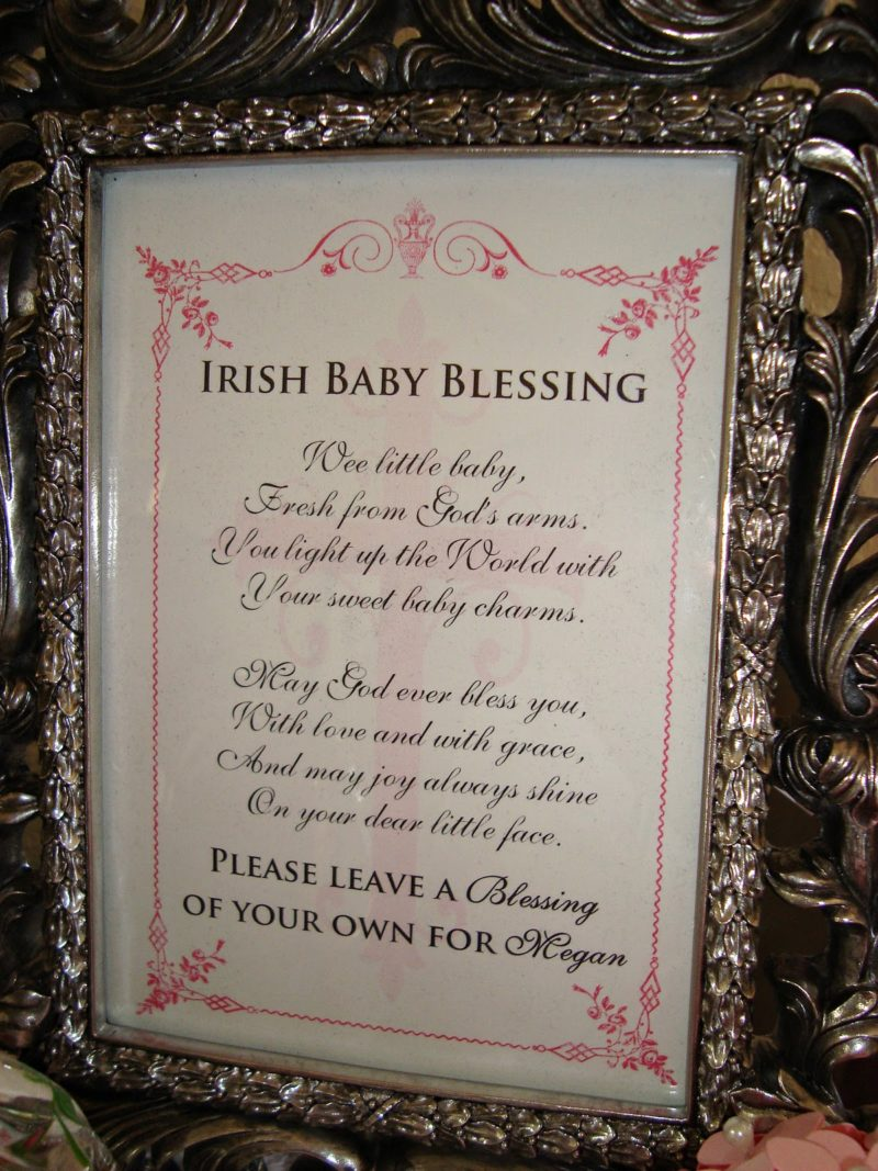 Pin on Cards  Irish Baby Blessing
