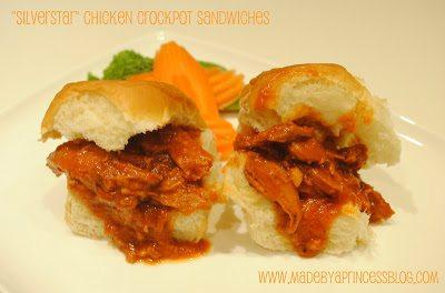 Silver Star Crock Pot Sandwiches