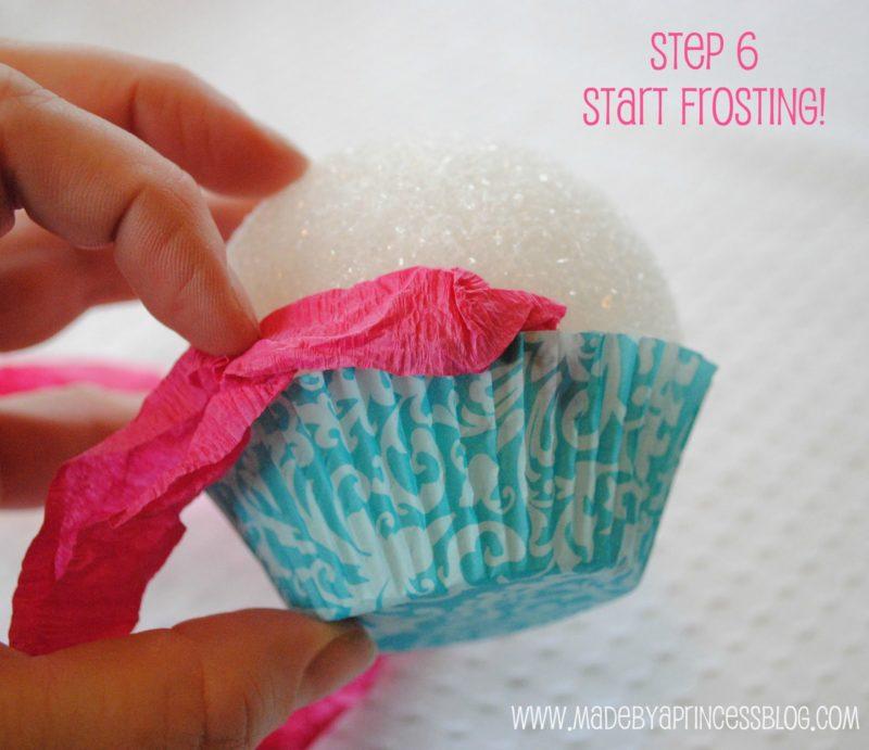 How To Make Fake Cupcakes Made By A Princess