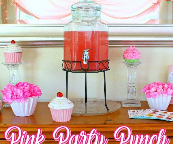 Sparkling Pink Party Punch Recipe