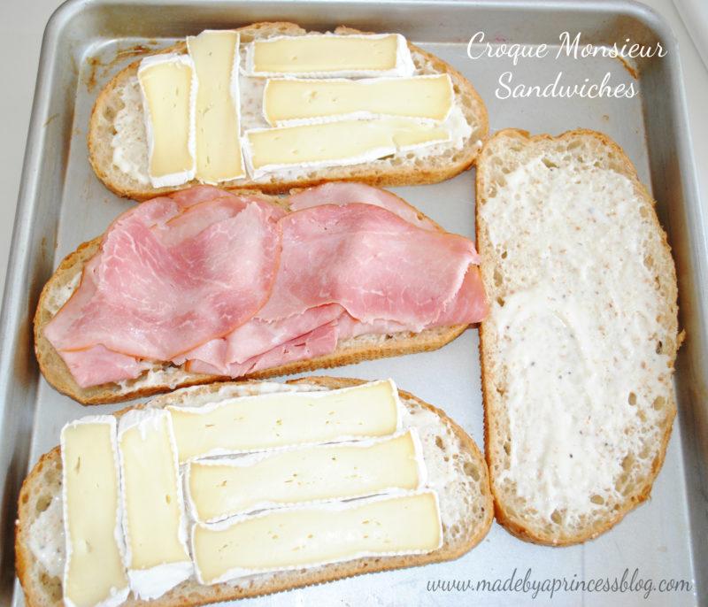 CM sandwiches assembled