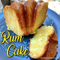 Old Fashioned Rum Cake Recipe