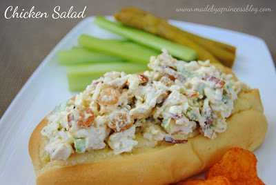 The Perfect Chicken Salad Sandwich Recipe