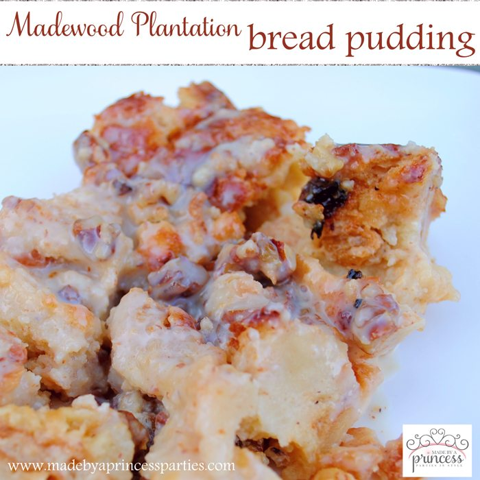 Madewood Plantation Bread Pudding