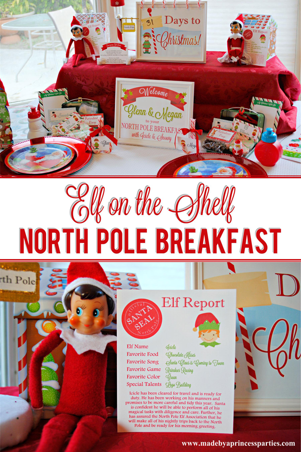 Elf on the Shelf North Pole Breakfast treat your little ones to a special breakfast with their elves this holiday