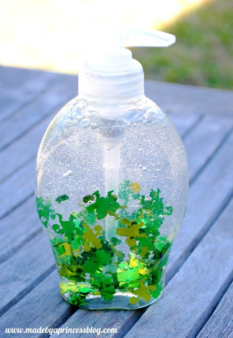 DIY Confetti Soap