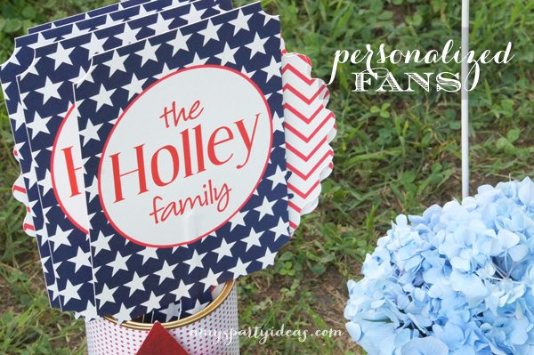 Fun Fireworks Tailgate ~ perfect way to celebrate your 4th of July! | #fourthofjuly #fireworks #tailgate party ideas from #AmysPartyIdeas | #Swoozies