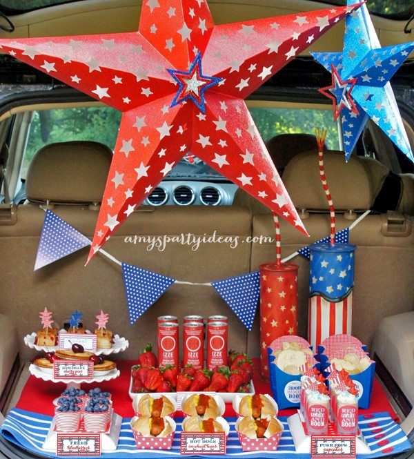 4th of July Tailgating Party