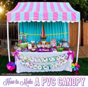 How to Make a PVC Canopy easy weekend project