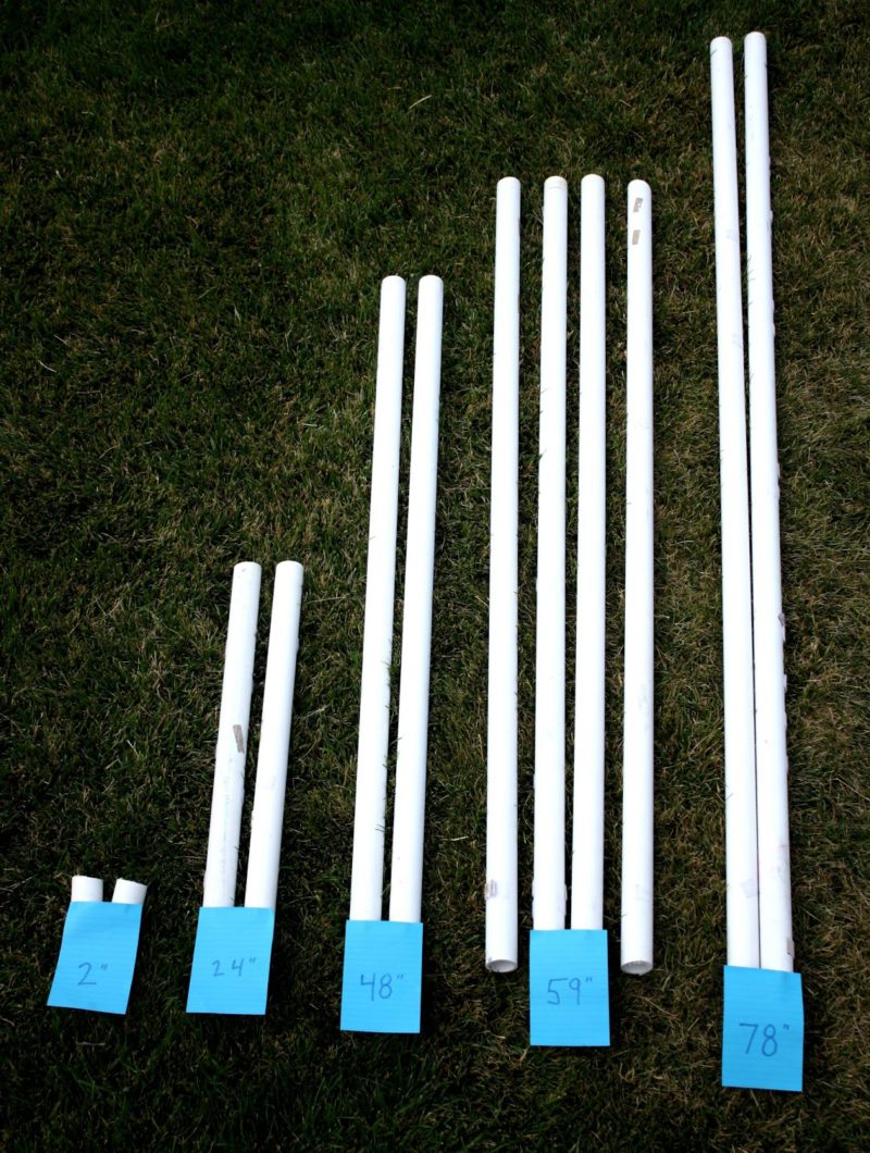 How to make a pvc canopy made by princess