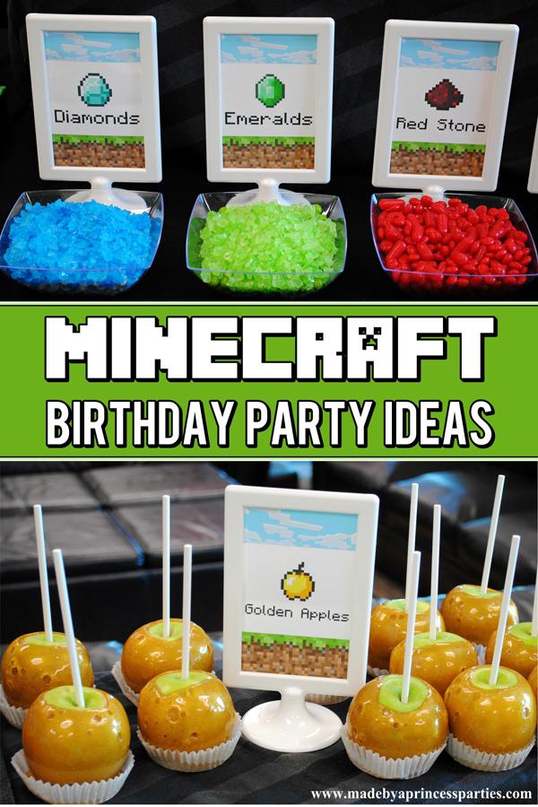 Ultimate Minecraft Birthday Party