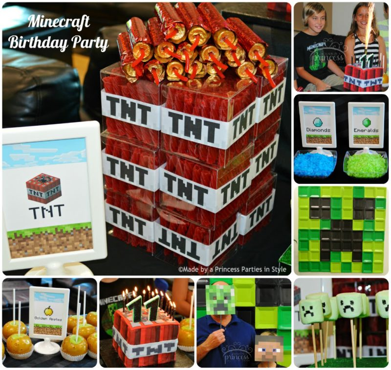 Minecraft Birthday Party
