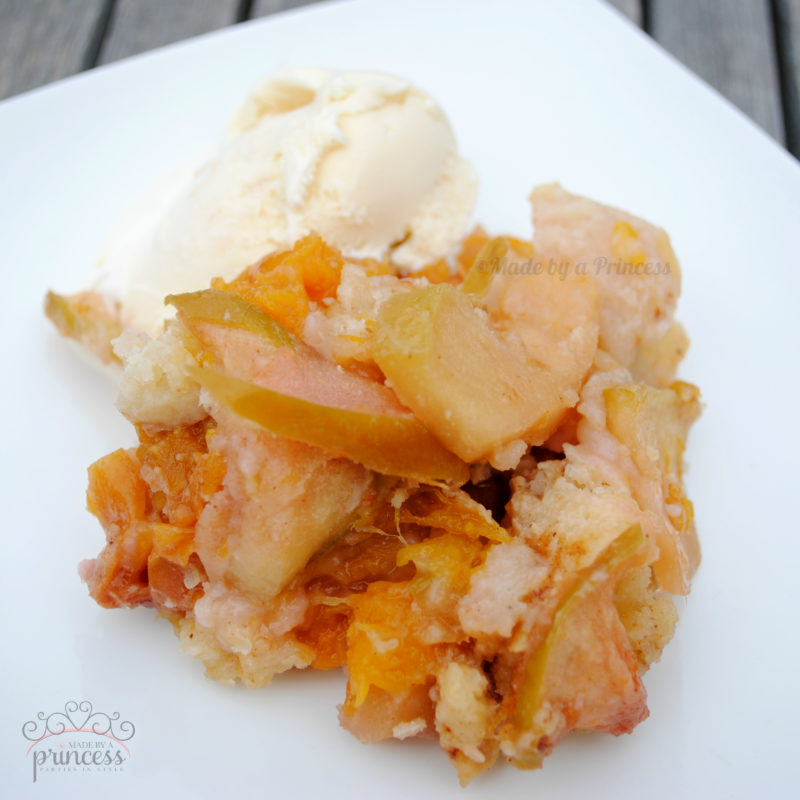 how to make apple cobbler with canned biscuits