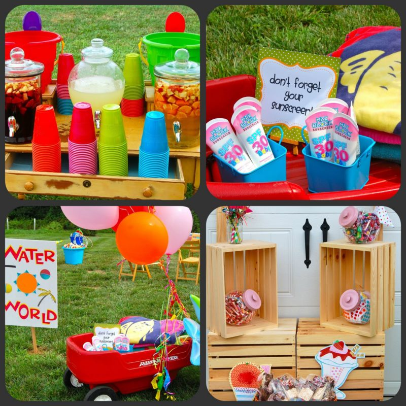Summer Fun Birthday Party