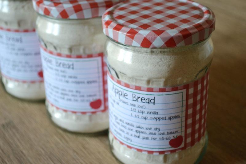 Apple Bread Mason Jar Mix