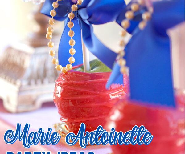 Elegant Marie Antoinette Party Ideas