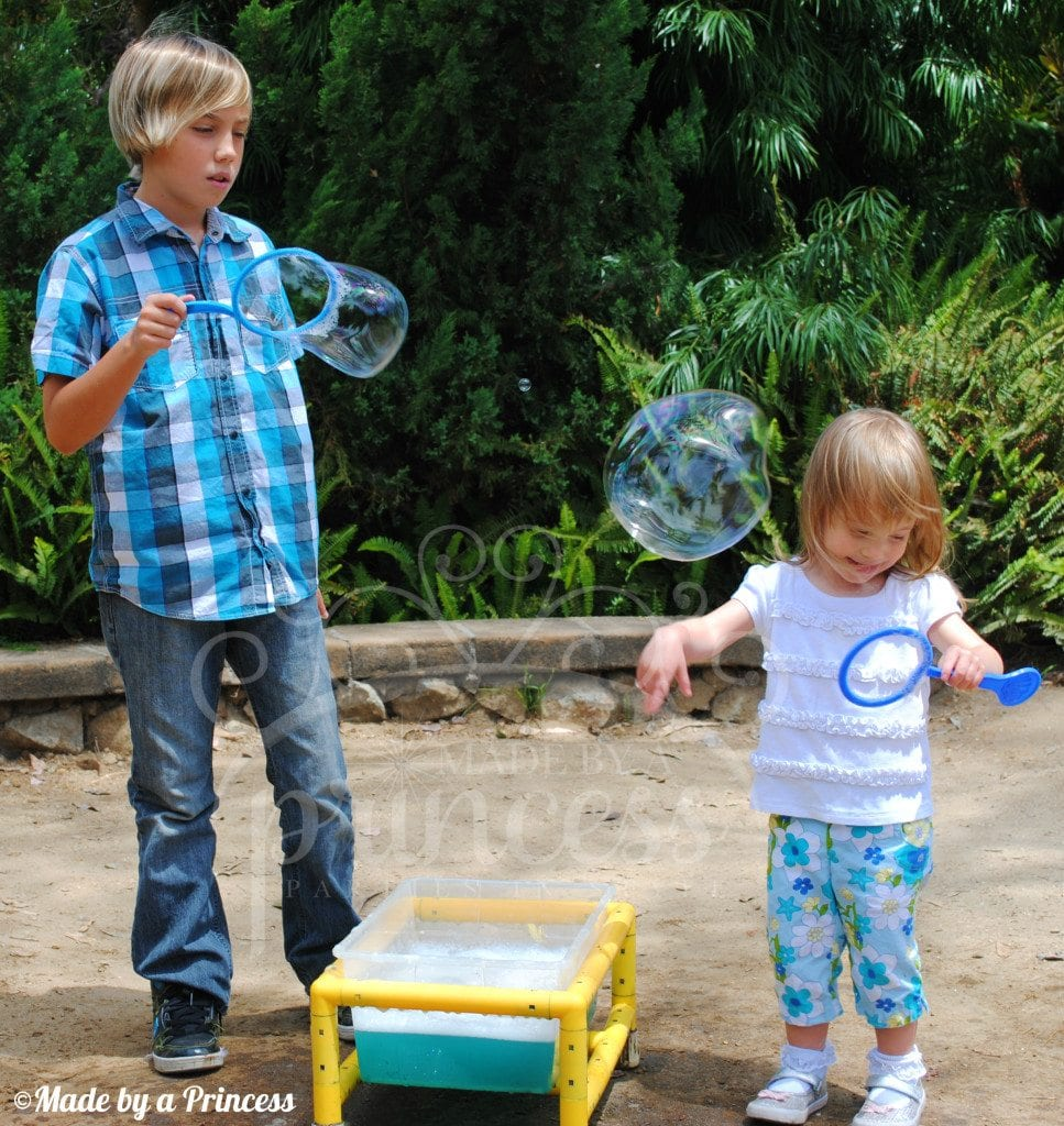 Botanical gardens bubbles