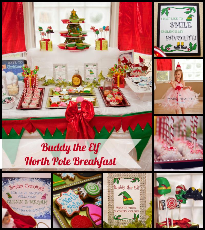 Buddy the Elf Movie North Pole Breakfast
