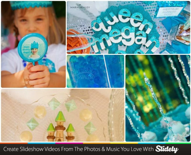 Frozen Party Video Slideshow
