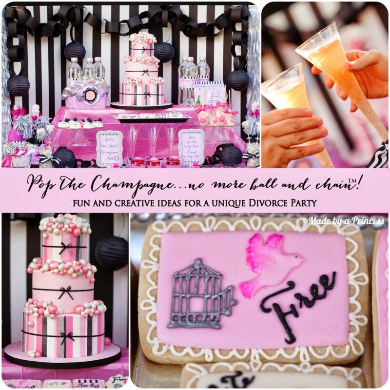 Pop the Champagne…No More Ball & Chain™ Divorce Party