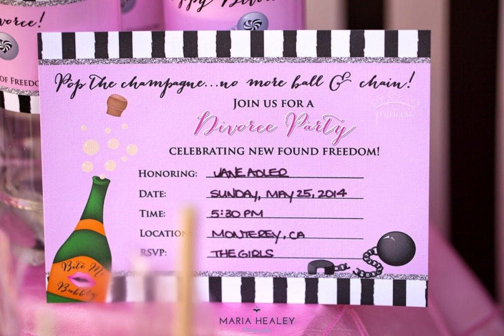 Pop the Champagne...No More Ball & Chain™ Divorce Party - Made by ...