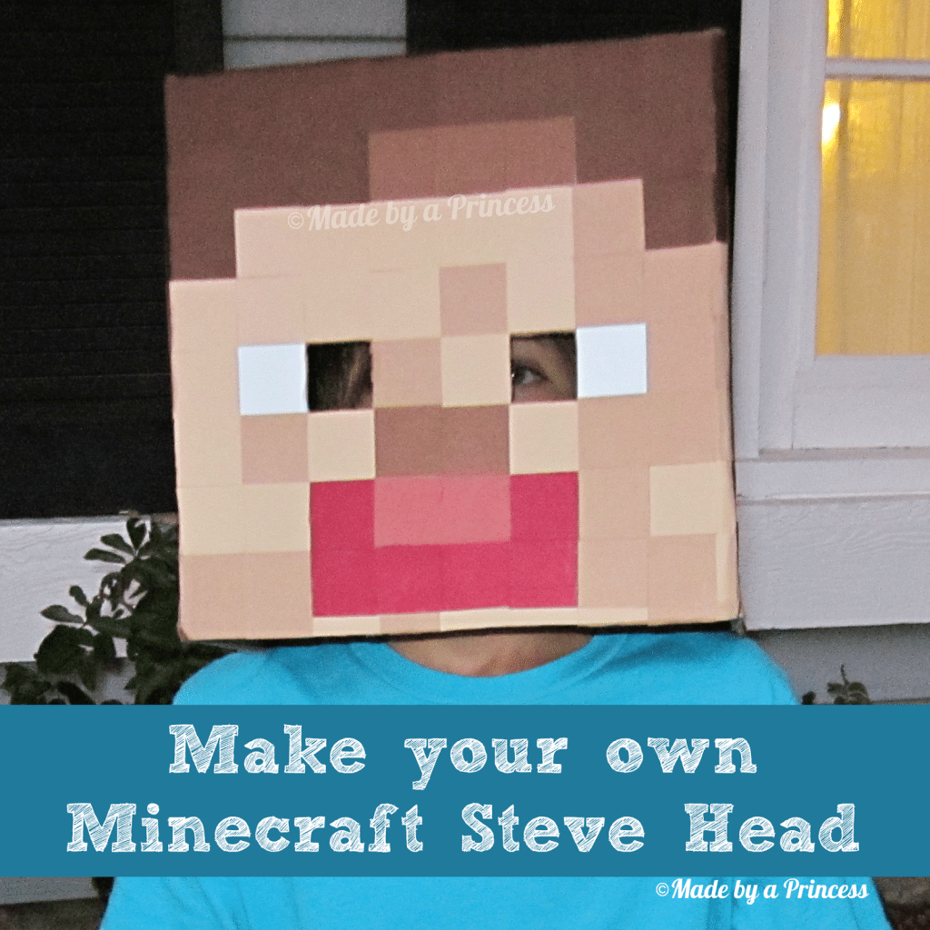 photograph regarding Minecraft Steve Head Printable identify Produce Your Personalized Minecraft Steve Thoughts - Manufactured through A Princess
