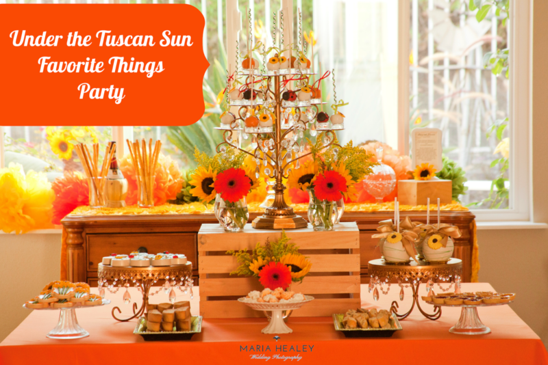 Under The Tuscan Sun Inspired Party Made By A Princess
