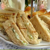 Benedictine Cucumber Tea Sandwiches