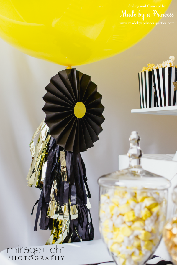 Candy Buffet KoyalBWYG balloon with tassels