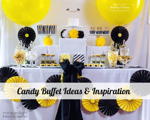 Candy Buffet Ideas and Inspiration