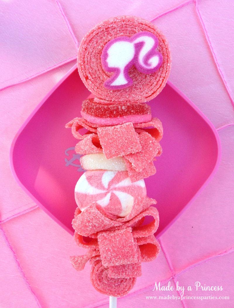 barbie tea party candy kabob