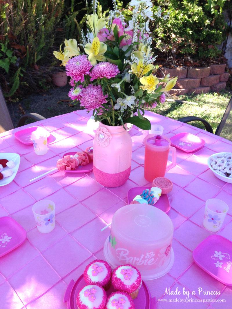 barbie tea party table