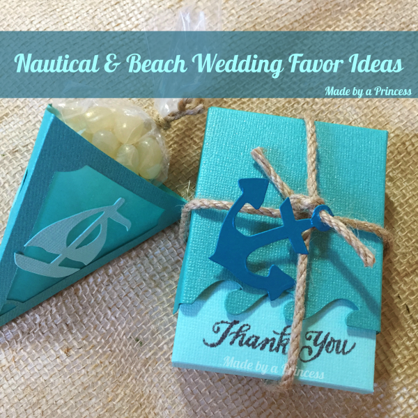 sizzix beach wedding favors sq
