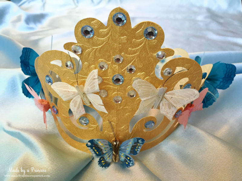 sizzix crown tutorial