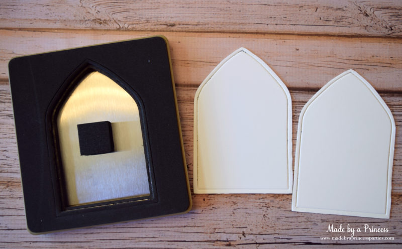 how to make a fairy door two panels