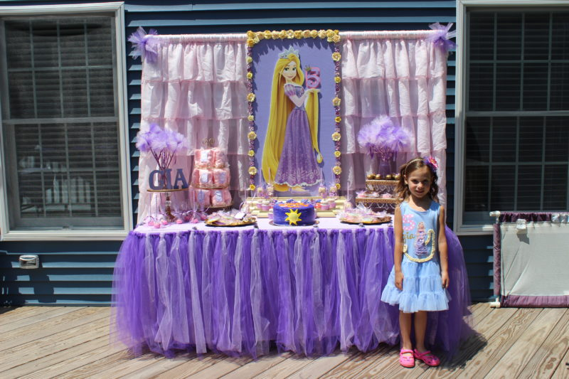 best day ever rapunzel party by tabletop treats