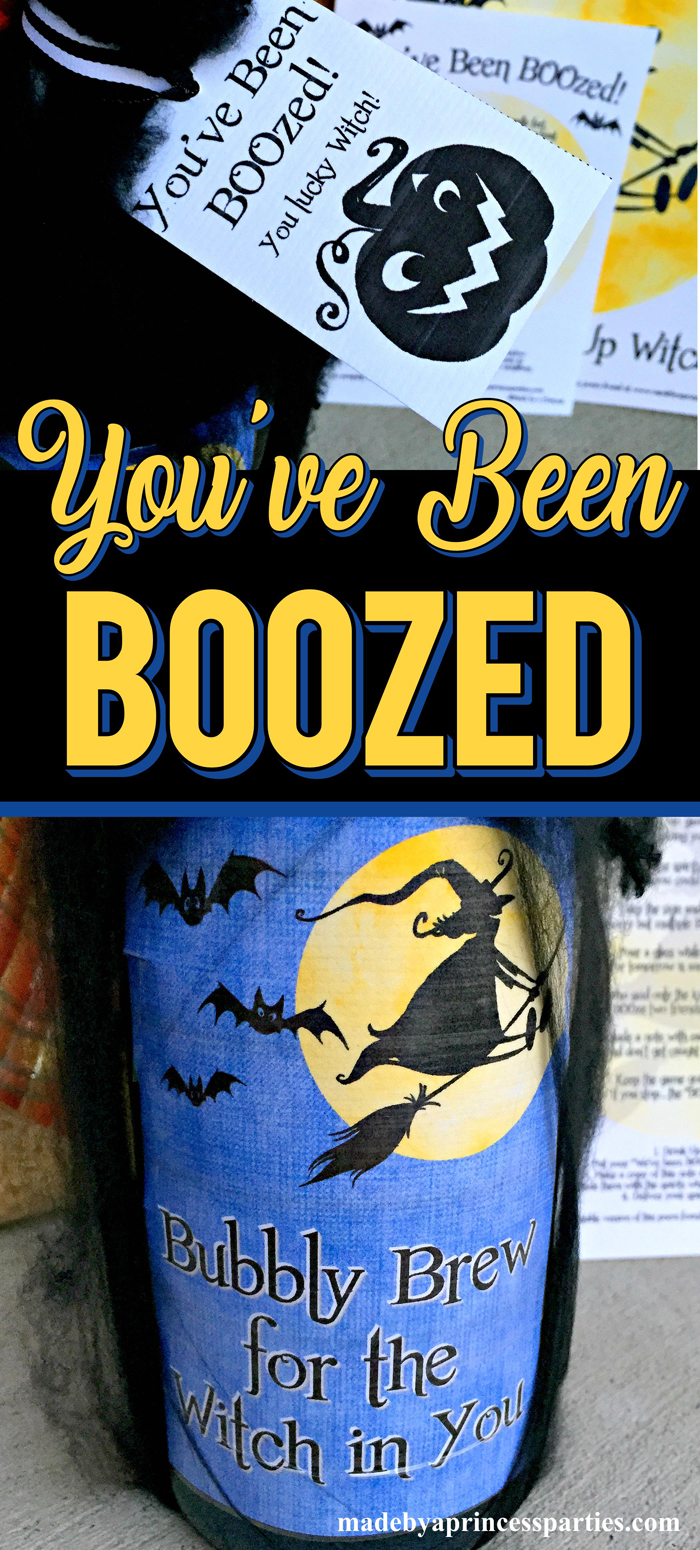 Youve Been BOOzed is a Fun Neighborhood Game for the adults to play this Halloween #boozegame #booze #youvebeenboozed