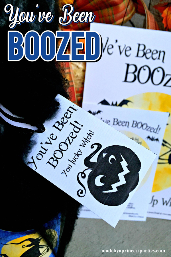 Youve Been BOOzed is a Fun Neighborhood Game for the adults to play this Halloween #boozegame