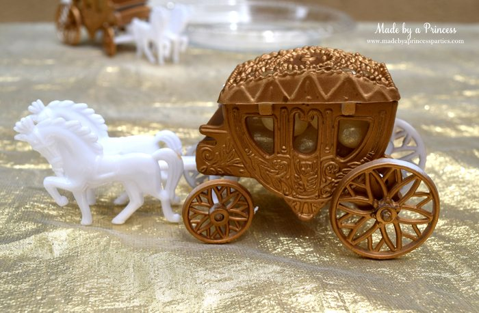 Princess Cinderella Party Will Leave You Enchanted carriage favor box