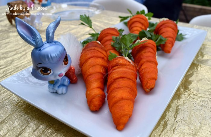 Princess Cinderella Party Will Leave You Enchanted chicken salad carrots