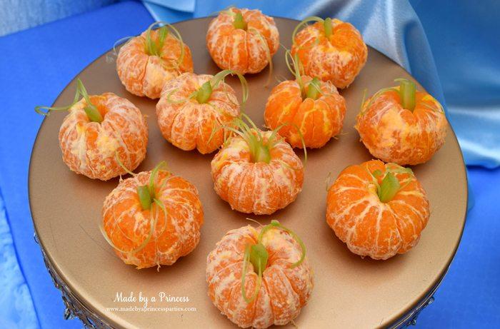 Princess Cinderella Party Will Leave You Enchanted pumpkins