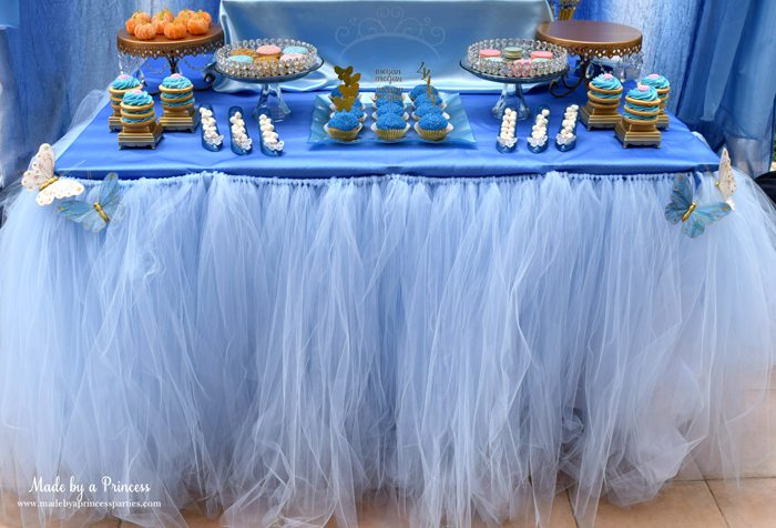 Princess Cinderella Party Will Leave You Enchanted table tutu