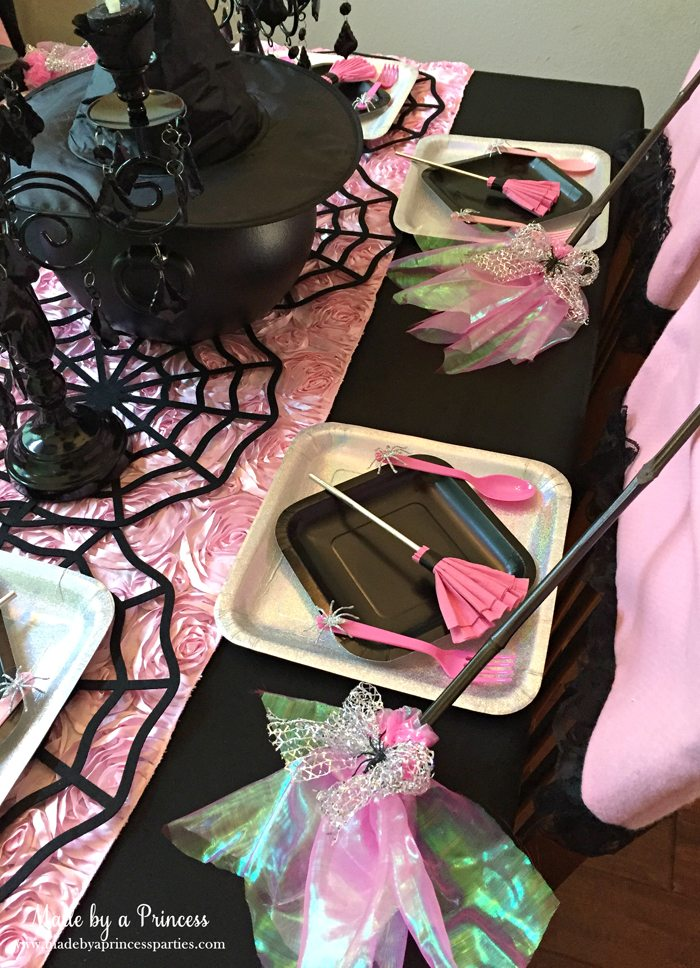 witch tea party table