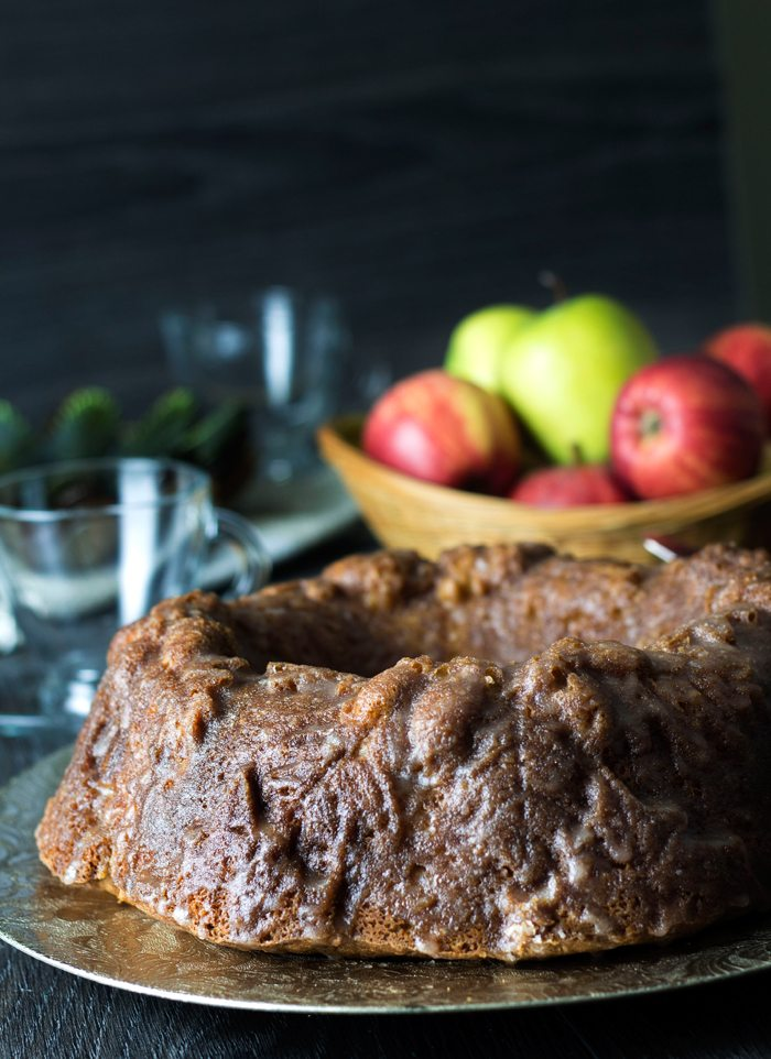 apple glazed cake erren