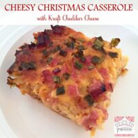 Ham and Cheese Christmas Morning Casserole