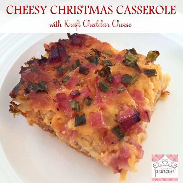 Ham and Cheese Christmas Morning Casserole Recipe