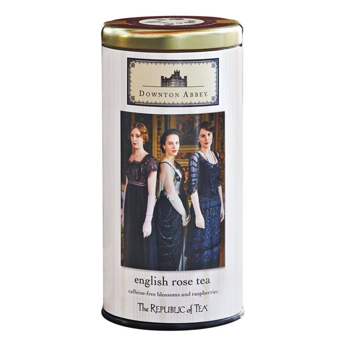 downton abbey english rose tea
