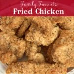 kylies family fried chicken recipe