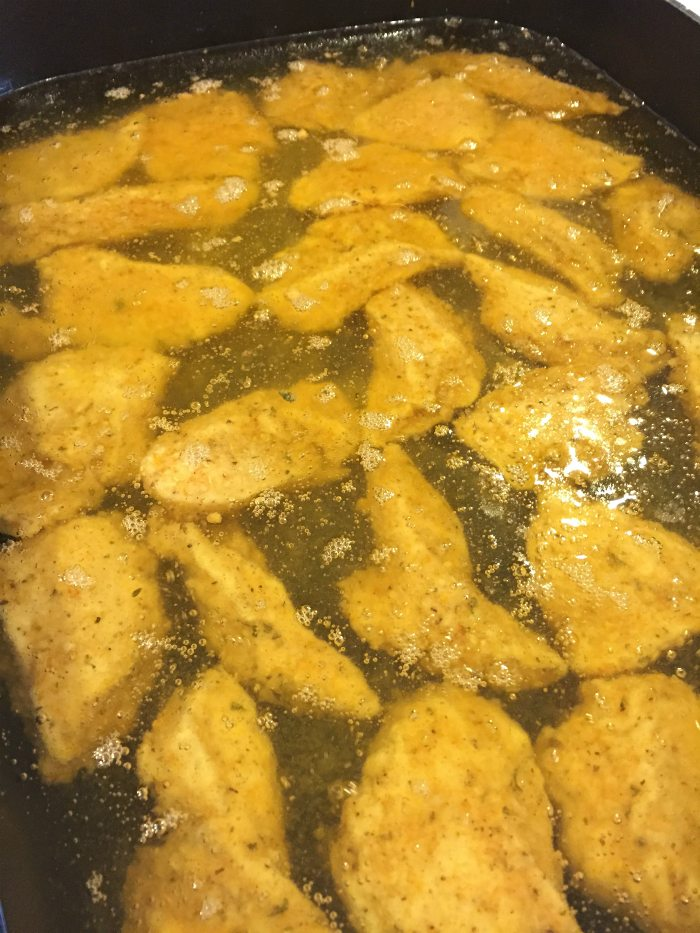 kylies family fried chicken in electric skillet