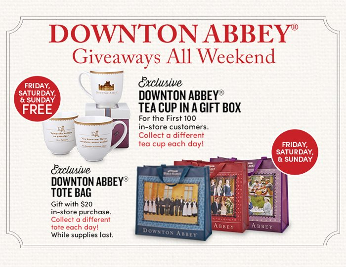 Downton Abbey is Back at World Market
